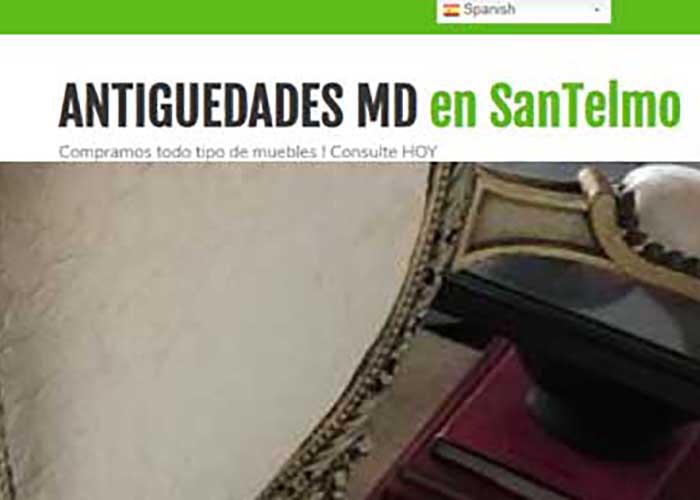 AntiguedadesMd.com | Anticuario en SanTelmo